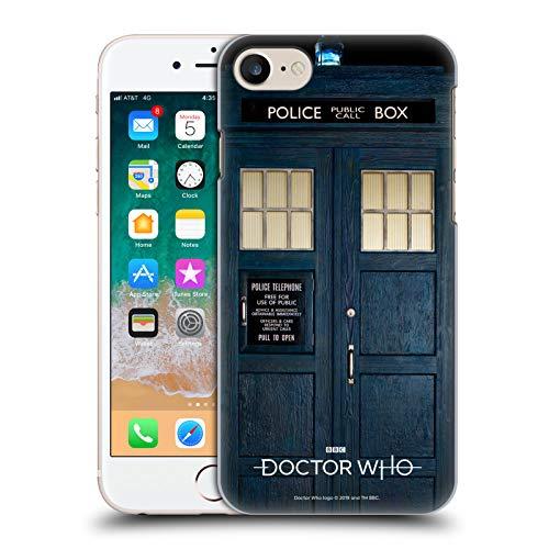 Head Case Designs Offizielle Doctor Who Tardis Staffel 11 Schluessel Kunst Harte Rueckseiten Huelle kompatibel mit Apple iPhone 7 / iPhone 8 / iPhone SE 2020