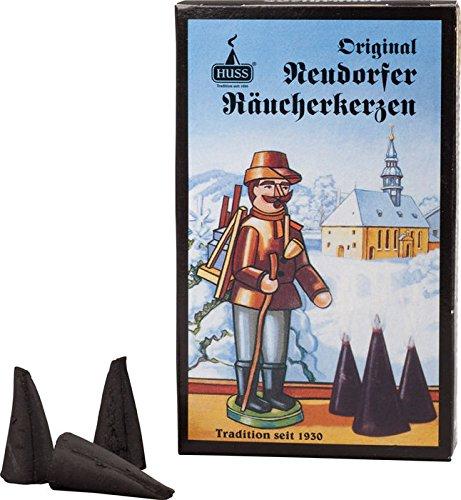 Weihrauch - Huss Original Neudorfer Räucherkerzen aus dem Erzgebirge