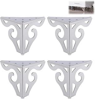 DSJMUY Patas para Muebles 4 Piezas Patas de Metal para Mueblesahuecadas Patas Modernas para Muebles de sofá para reparaci...
