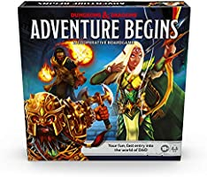 Dungeons & Dragons Adventure Begins, Cooperative Fantasy Board Game, Fast Entry to The World of D&D, Family Game for...