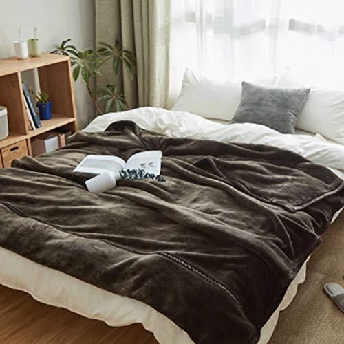 Xianw Luxus-Fleece-Decke Super Soft Warm Fuzzy Leichtes Bett Oder Couch Decke Twin/Queen / King Size (Twin),D,180X200cm(71X79inch)