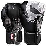 Hayabusa Marvel Hero Elite Gants de boxe pour homme et femme The Punisher, 453,6 g