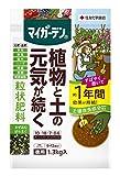 成分: N:P:K:Mg=10:18:7:0.6 すぐに効いて長く効くから元肥&追肥に。肥料効果が約1年続く!土も元気にする肥料! いつでも使えて利便性UP! ニオイが少ない有機質入り 土壌改良成分(腐植酸)配合
