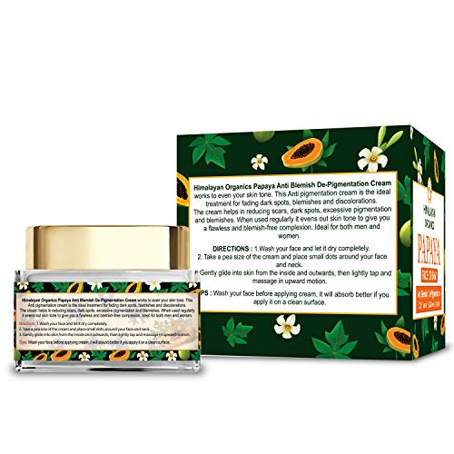 Himalayan Organics Papaya Pigmentation Removal Cream