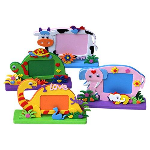 Domybest pour enfants DIY 3d en mousse EVA jouet puzzle Early Learning Toys Craft Kits de Noël Halloween cadeaux Maison Maternelle Décor Cadre photo (1)