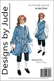 Outlander Jamie, a 1700's Suit Pattern for 17.5