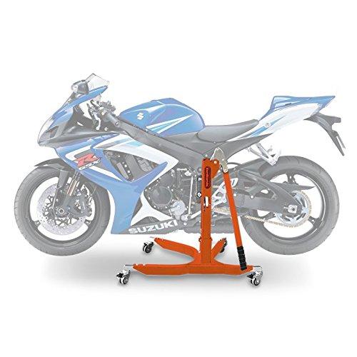 ConStands Power Classic-Zentralständer Suzuki GSX-R 750 06-07 Orange Motorrad Aufbockständer Heber Montageständer