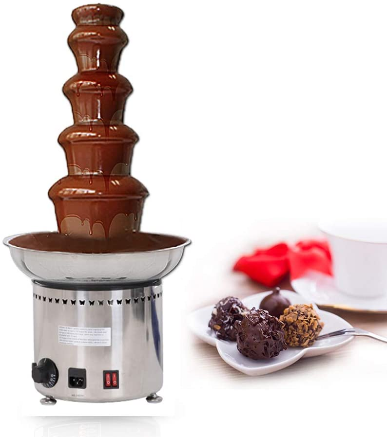 Huanyu 5 Tiers Commercial Kansas City Mall Electric Fountain Chocolate Max 78% OFF Machine 30