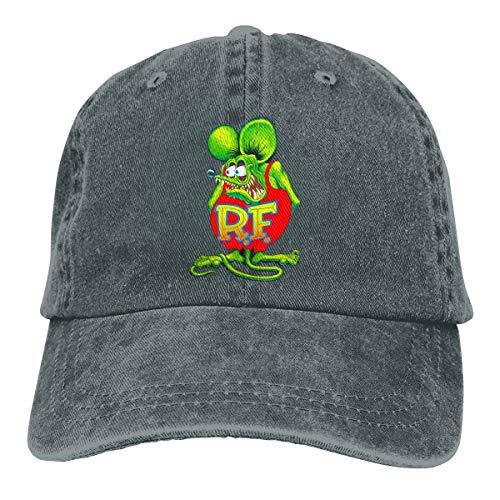 Rat Fink 45 Baseball Cap,Classic Adjustable Dad Hat Deep Heather
