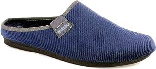 inblu Pantofole Ciabatte da Uomo Invernali MOD. RP-16 Blu Nuovo