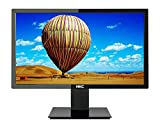 HKC MB24S1 Full HD Monitor 24 Zoll (VGA, HDMI, VA Panel, 1920 x 1080 Pixel, 60 Hz) schwarz