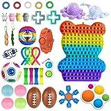 Fidget Toys Pack Juego de Juguetes sensoriales Baratos para niños Adultos/Therapy Toys para ADHD, TOC, Autismo - 36Pcs