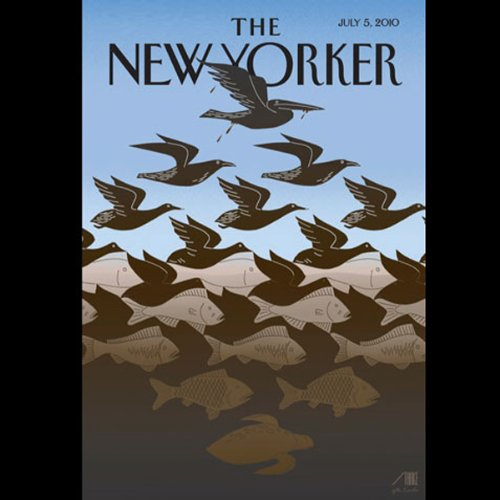 The New Yorker, July 5th, 2010 (Charlayne Hunter-Gault, Tad Friend, Sasha Frere-Jones) copertina