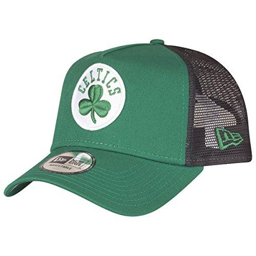 A NEW ERA Era League Essential Trucker Cap ~ Boston Celtics