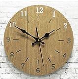 OYY Manufacture Relojes de Pared Nórdicos Relojes de Madera