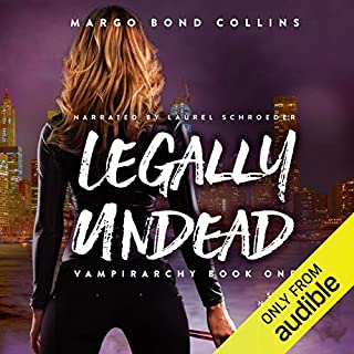 Legally Undead audiobook cover art