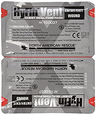 North American Rescue Hyfin Vent Chest Seal by North American Rescue