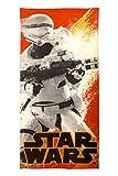 Star Wars Personajes 2Piezas Set de baño de algodón/de baño, Ep7 Flame Trooper, 28 x 58 Inches