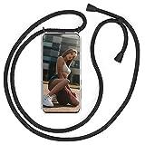 QCHMM Collier Coque pour Huawei Nova8 - étui de téléphone avec Cordon - Tour de Cou Lanière en...