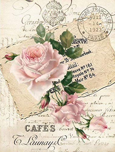 Paper for decoupage Vintage Style(A4 / 20x25 cm) Total 3 Sheets