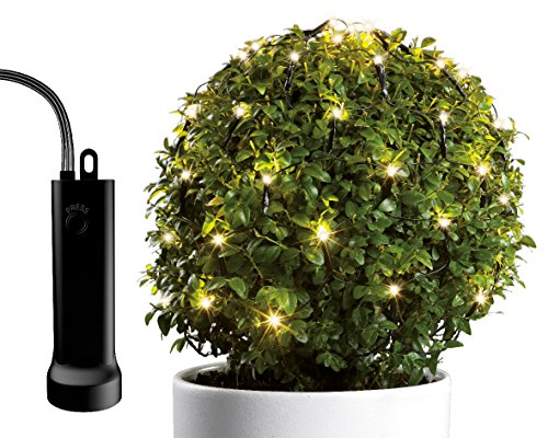 Lumineo Duraweise Batterie LED Buxusnet, aussen Beleuchtung, Durchmesseria, 35 cm 497216