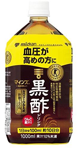 ミツカン マインズ毎飲酢黒酢ドリンク 1000ml 1箱(6本)