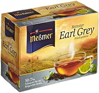 Meßmer Earl Grey 50 Teebeutel - 6 Packungen