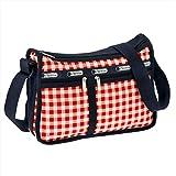 レスポートサック 斜め掛けバッグ LESPORTSAC Deluxe Everyday Bag 7507 D757 Gingham Classic Red u-ls-7507-d757 並行輸入品