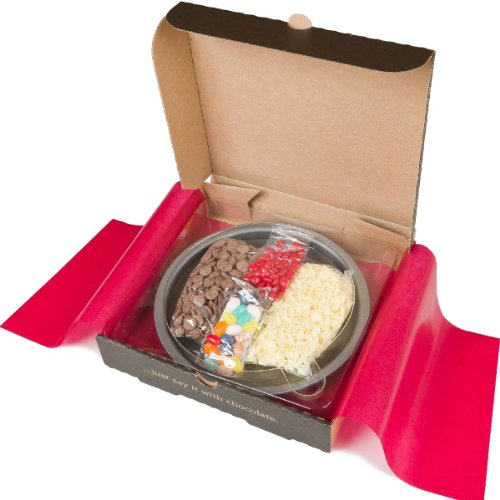 Gourmet Chocolate Pizza Make Your Own Pizza Kit 7'' Kids Summer Activity