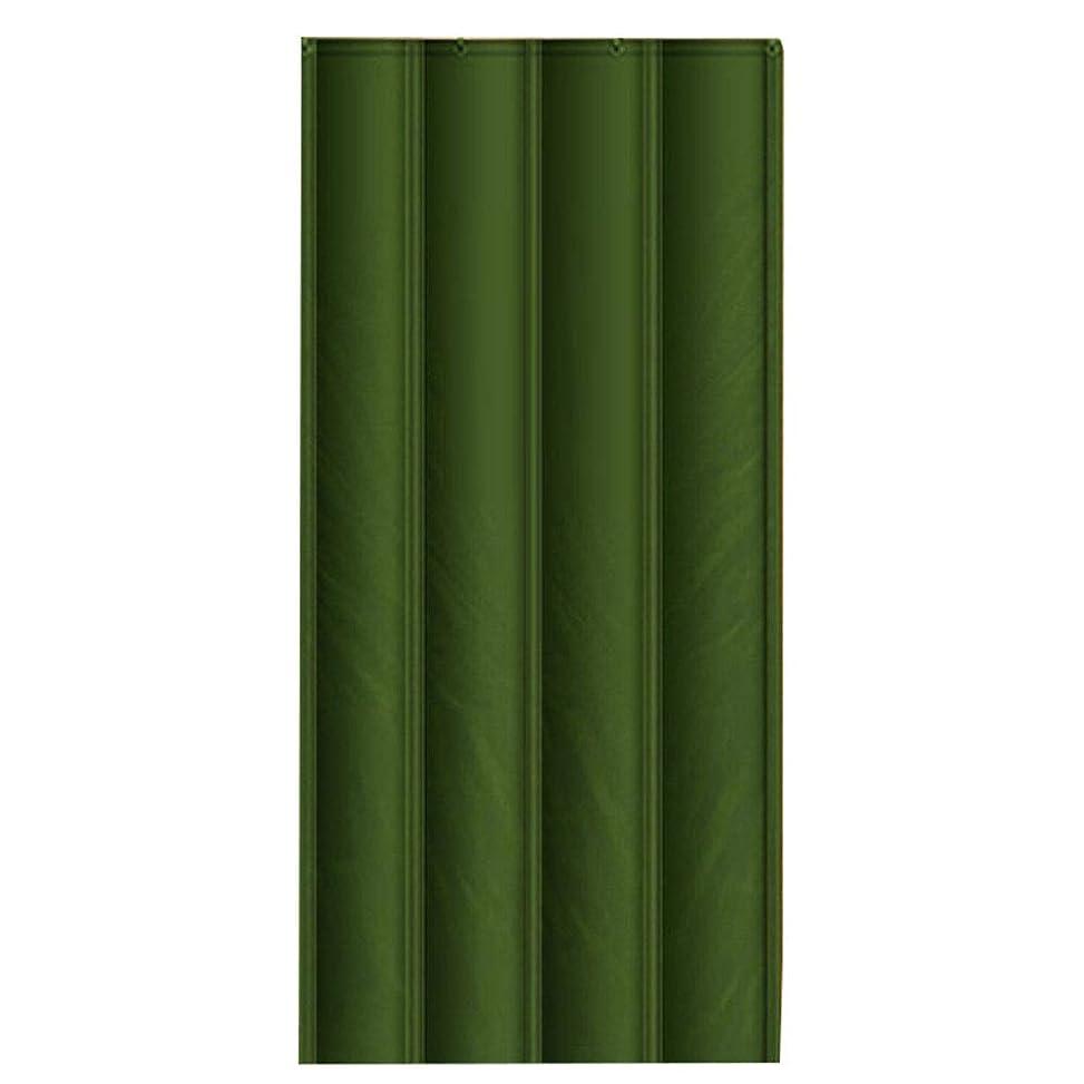 分泌する認知詩CAIJUN ドアカーテン カスタムメイド 折りたたみ可能 充填スポンジ 透明ウィンドウ 防水 暖かく保つ、 3つのスタイル、 24サイズ (色 : A, サイズ さいず : 120x220cm)
