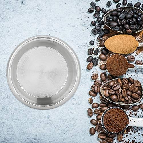 Haokaini Wiederverwendbarer Korb Kaffeefilter für zu Hause Milchteeladen Bar Café Kaffeemaschinenzubehör