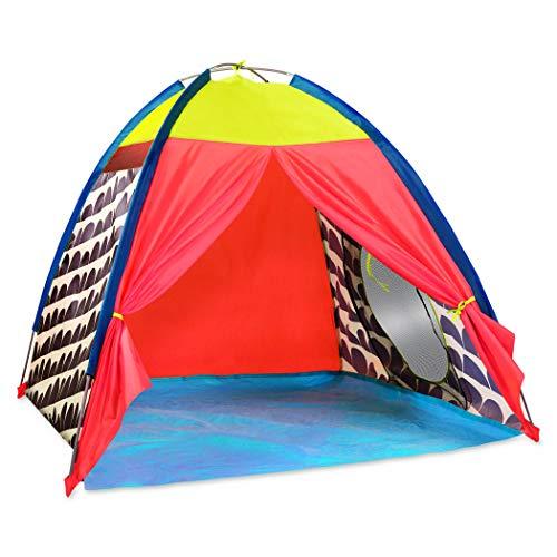 B. toys by Battat BX1602Z Spielzelt für Drinnen und Draußen, Garten – Kinderzelt Transporttasche ab 18 Monaten, Zelt für Kinder, Multi