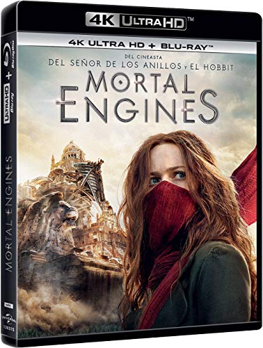 Mortal Engines (4K UHD + Bd) [Blu-ray]