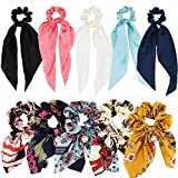 ANBALA Satin Ribbon Hair Scrunchies