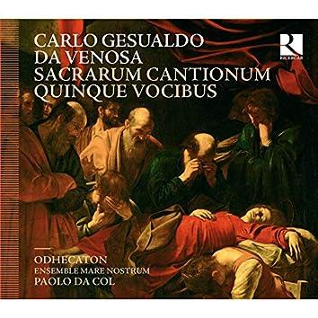 Gesualdo da Venosa: Sacrarum cantionum quinque vocibus
