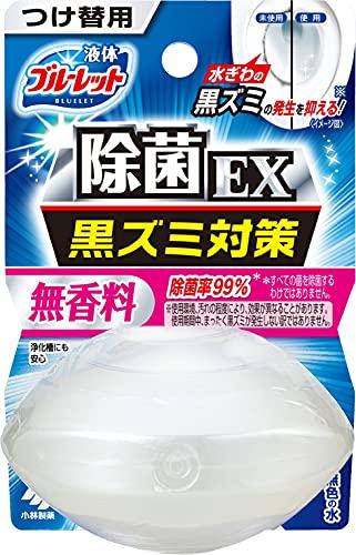 液体ブルーレットおくだけ除菌EX トイレタンク芳香洗浄剤 詰め替え用 無香料 70ml