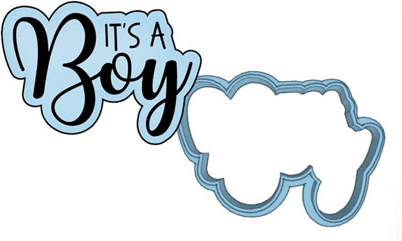 It S A Boy Cookie Cutter Set American Confections Baby Shower Baby