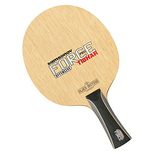 Big Save! TIBHAR Samsonov Force Pro Black Edition Table Tennis Blade (ST)