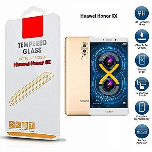 Huawei Honor 6x Protector de pantalla de cristal templado (sólo para esto Teléfono)