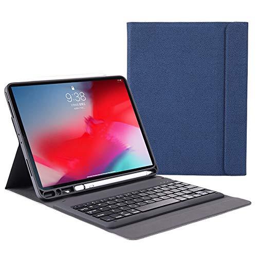 Aidashine IPad Keyboard Case voor iPad Pro 12.9 2018 - Zachte TPU Case Protection - Draadloos Bluetooth Toetsenbord