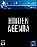 Hidden Agenda PlayStation 4 隠された意図 プレイステーション4 北米英語版 [並行輸入品]
