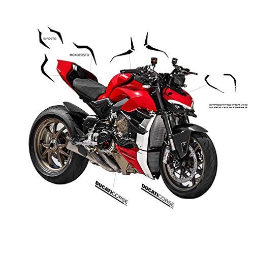 Vulturbike Ducati Streetfighter V4 / V4S Design Panigale SP Schwarz