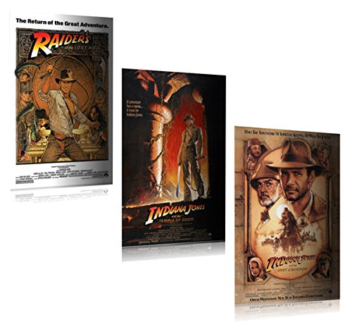 Posters USA MOV059 Indiana Jones Temple of Doom Movie Poster Glossy Finish