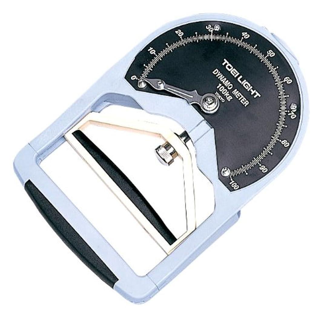 消化ジャグリングヘクタールTOEI LIGHT(トーエイライト) 握力計DX T2288 0~100kg用(0,5kg単位) 日本製 スメドレー式