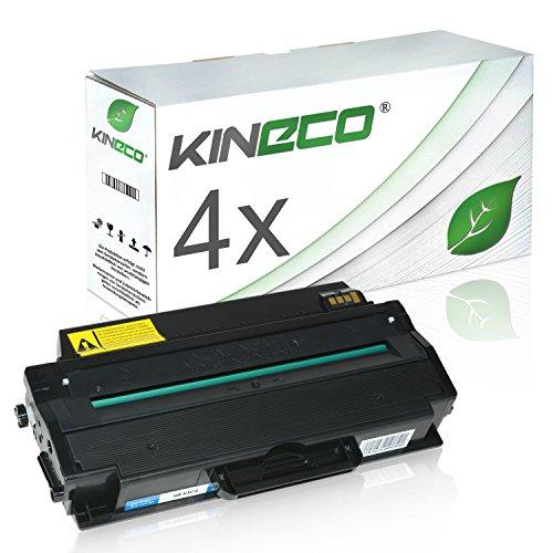 4 Toner kompatibel zu MLT-D103 für Samsung ML-2950NDR, ML-2955FW, SCX-4726FN, SCX-4728FD, SCX-4729FW - MLT-D103L/ELS - Schwarz je 2.500 Seiten