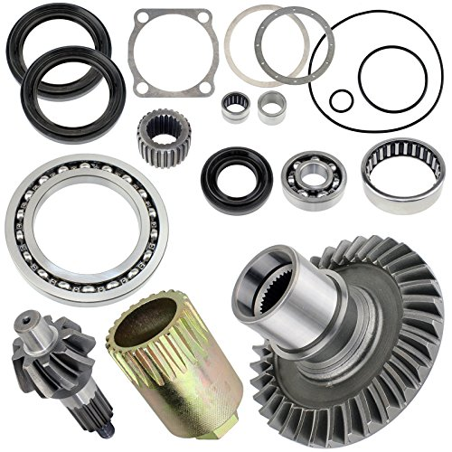 Caltric Complete Rear Differential Rebuild Kit Compatible with Yamaha Grizzly 660 Yfm660 2002-2008