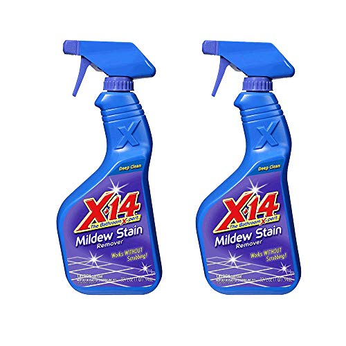 X 14 260760 Deep Clean Mildew Stain Remover Cleaner, 32 Ounce (2 Pack)