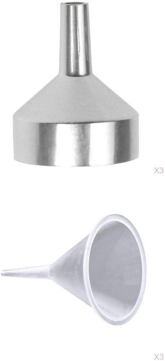 joyMerit 6pcs Plastic Metal Funnel Fill Liquid In stock Ic Water Home Ranking TOP8 for