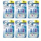 Febreze 3volution Lufterfrischer für elektrische Steckdosen, Nachfüllpackung, 20 ml, 6 Stück