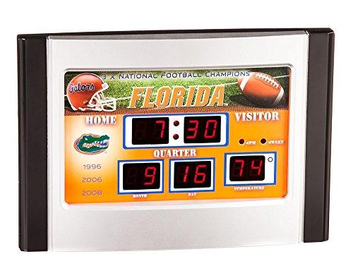 Team Sports America Florida Gators Scoreboard Desk Clock